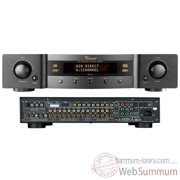 Amplificateur Audio/Video Vincent SAV-C2 D�codeur Preamp 6.1 - Noir - 203747
