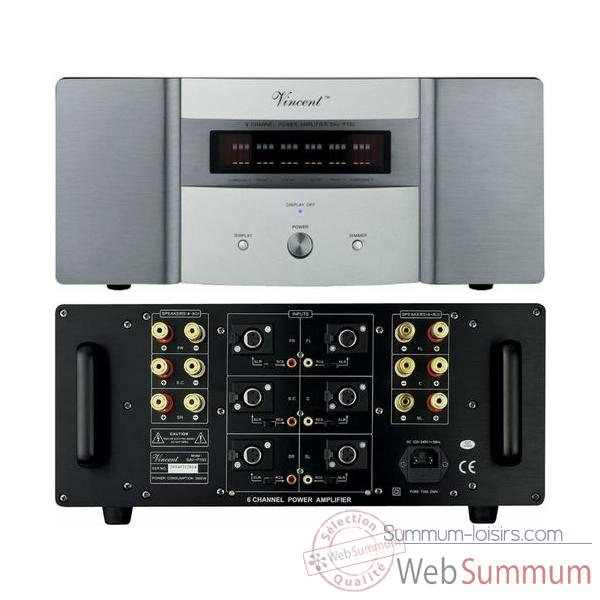 Amplificateur Audio/Video Vincent SAV-P150 Ampli 6 canaux - Argent - 203373