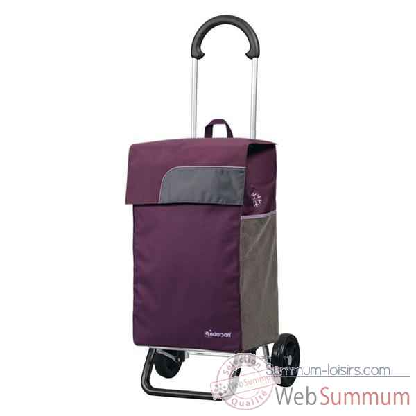 Andersen poussette de marche scala shopper plus fox violet 2025