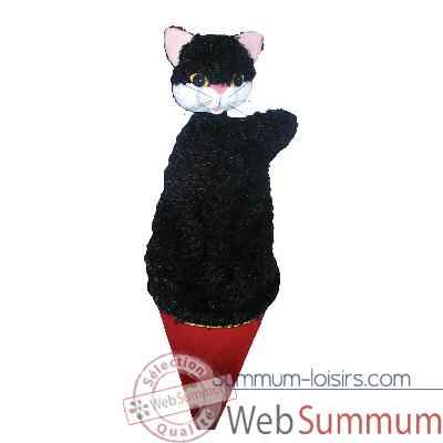 Video Marionnette marotte Anima Scena - Le chat - environ 53 cm - 11408a