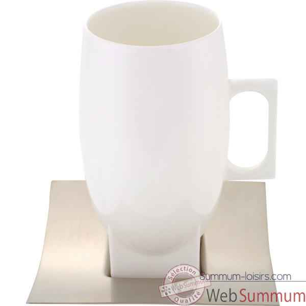 Video Autrement Chocolat-Mug tramontina en porcelaine.