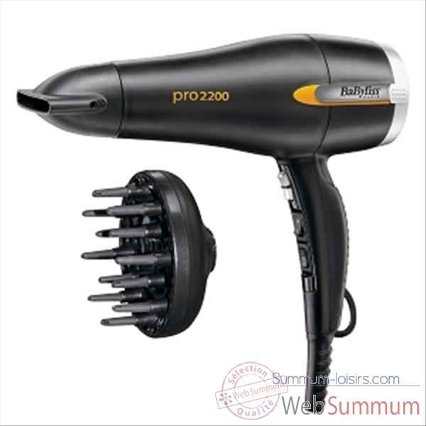 Babyliss seche-cheveux pro turbo ionic 654069
