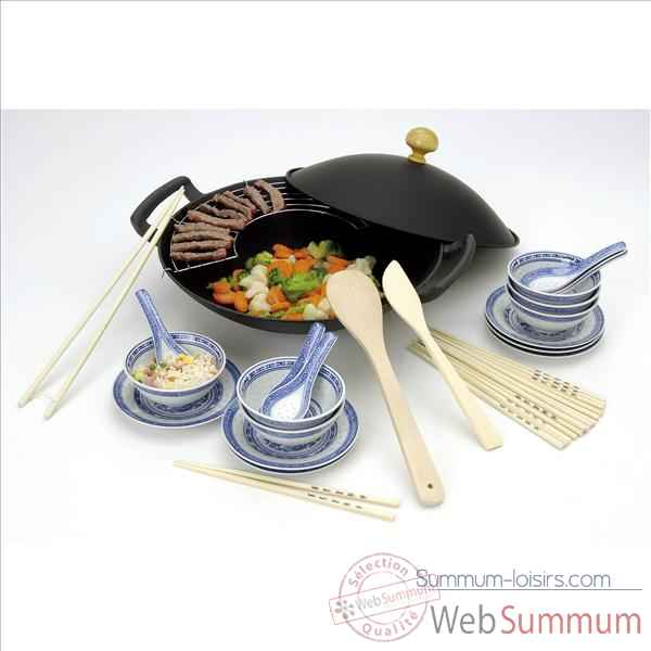 Beka set wok family en fonte 30 pieces 297940