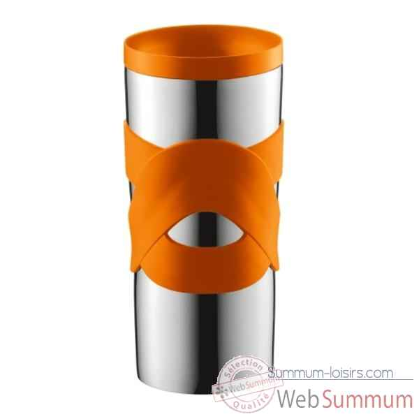 Bodum travel mug 0.45 l etanche inox orange  4936