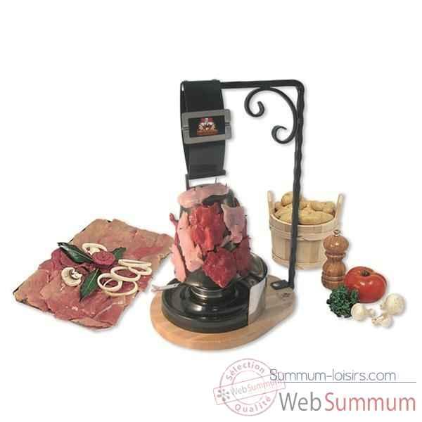 bron coucke gril viande la clocherade de cuisine dans pierrade sur summum loisirs. Black Bedroom Furniture Sets. Home Design Ideas