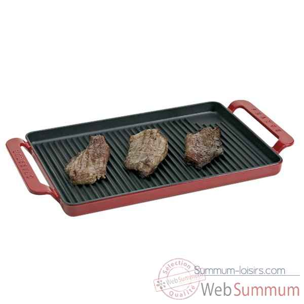 Chasseur grill rectangulaire 42 x 24 cm rubis Cuisine -5526