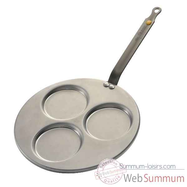 De buyer poele tri-blinis 27 cm - mineral b element Cuisine -11857