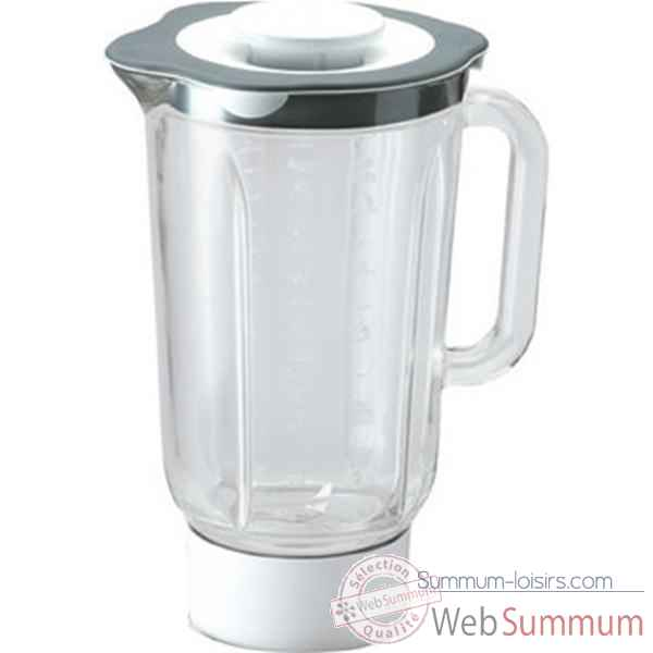 Kenwood bol mixeur 1.5 l en verre - chef et major -001428