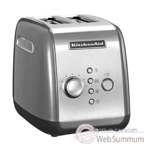 Kitchenaid toaster 2 tranches argent Cuisine -120403