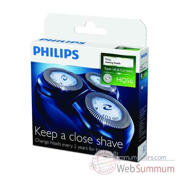 Philips lot de 3 tetes de rasoir  -005143