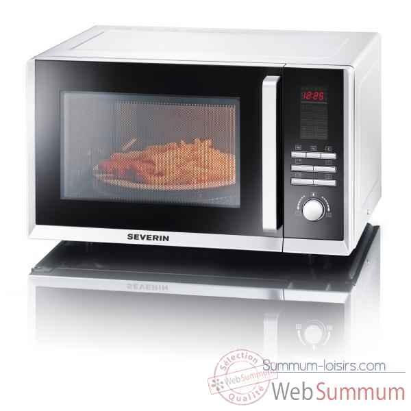 Severin combin micro ondes grill chaleur tourante 23 - Difference micro onde grill et combine ...