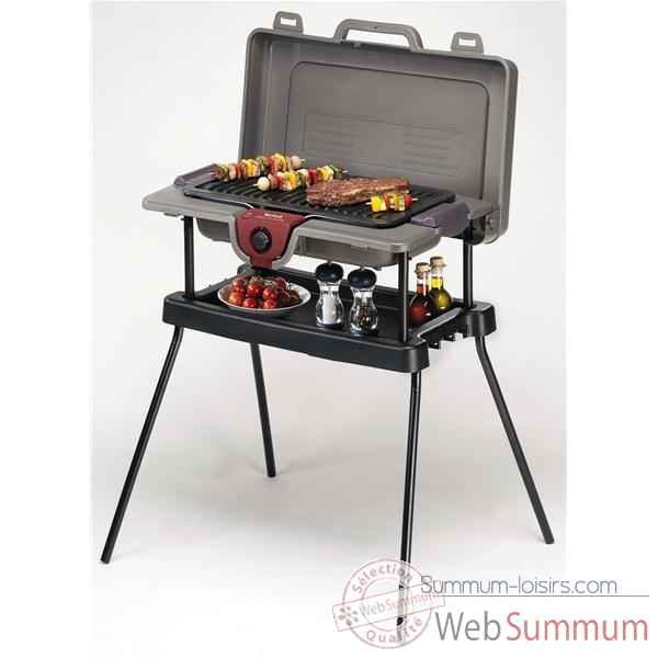 Tefal barbecue sur pied 2300 w - grill 'n pack contact -005513