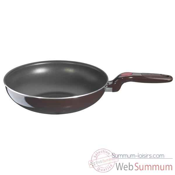 tefal po le wok confort touch 28cm 004716 de cuisine dans. Black Bedroom Furniture Sets. Home Design Ideas