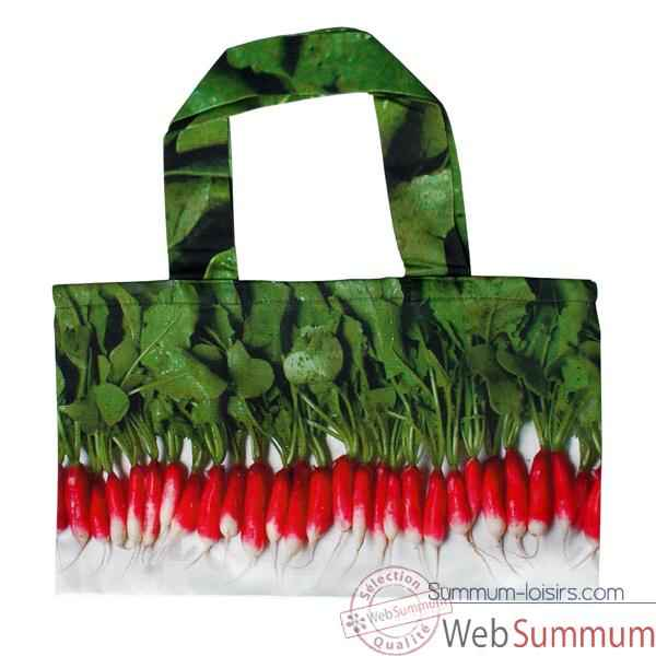 Maron Bouillie-Sac à course illustration radis.