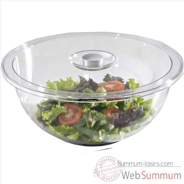 Emsa saladier 35 cm transparent - fit & fresh 506298