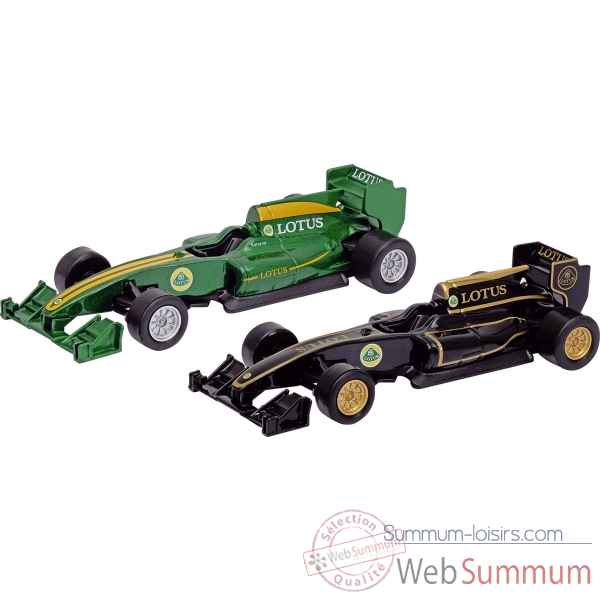 Lot de 2 voitures lotus t125 1:34-39 a retrofriction Goki -12254