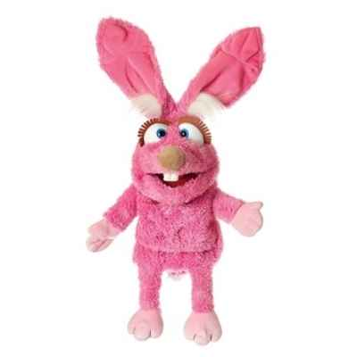 Mampfine le lapin rose Living Puppets -W654