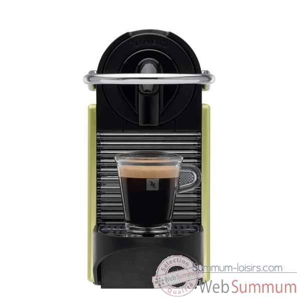 magimix nespresso pixie m110 vert metal de cuisine de machine caf th chocolat. Black Bedroom Furniture Sets. Home Design Ideas