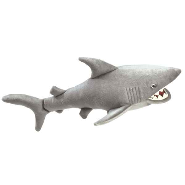 Video Marionnette peluche, Requin -2064