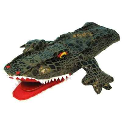 Video Marionnette a main anima Scena crocodile -17607