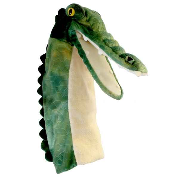 Video Grande marionnette peluche a main - Crocodile-26010