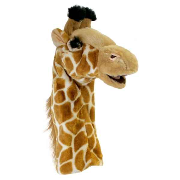 Video Grande marionnette peluche a main - Girafe-26015