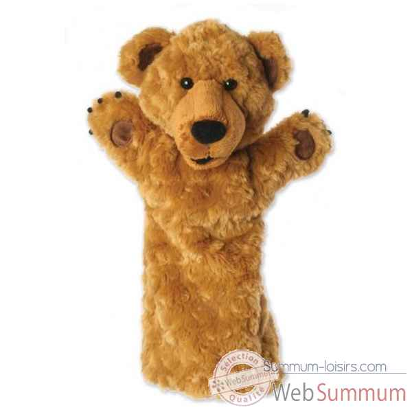 Video Grande marionnette peluche a main - Ours-26002