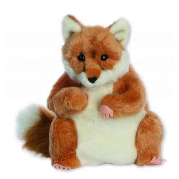Video Marionnette peluche a main - Renard-24019