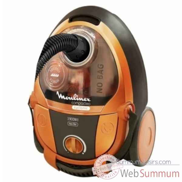 moulinex aspirateur sans sac compacteo orange 759 de. Black Bedroom Furniture Sets. Home Design Ideas
