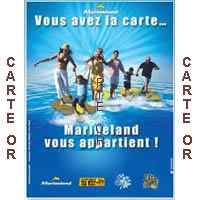 Marineland (06 Antibes)- Pass OR  Adulte Annuel