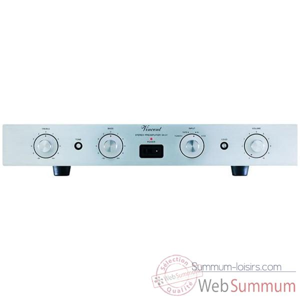 Preamplificateur Vincent SA-31 Premp tubes - Argent - 200356