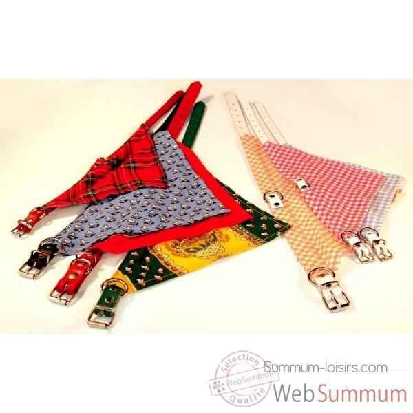 Collier bandana 16mm l. 45 cm Sellerie Canine Vendeenne 80446