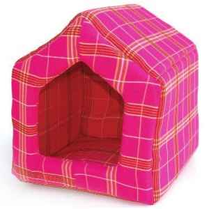 Maison chien chat dans corbeille couffin coussin sur for Repulsif pour chat sur tissu pour interieur