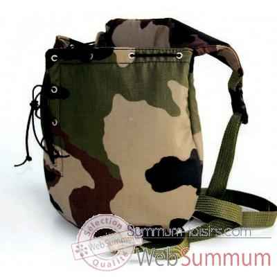 Sac ventral tissu camouflage h. 36cm Sellerie Canine Vendeenne 12881