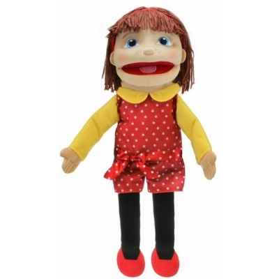 Medium fille (peau claire) the puppet company -pc002054