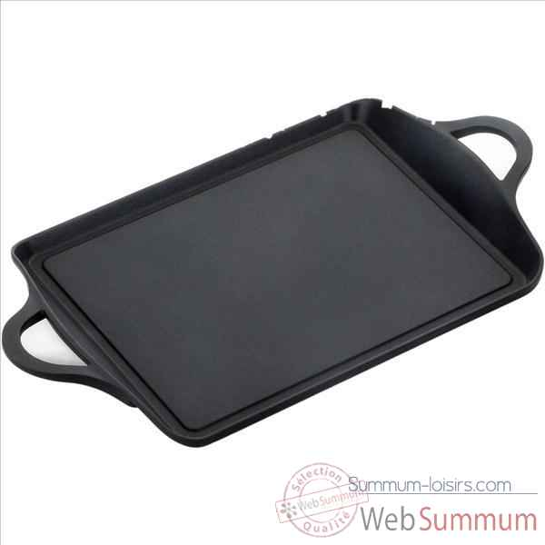 Valira grill rectangle 34x25 cm - black induction 306198
