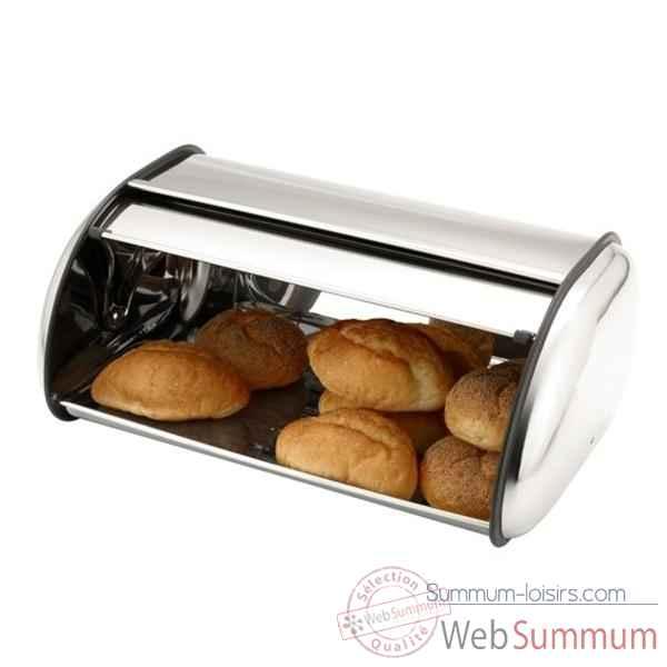 Bo te pain bois 121410 de cuisine dans huche boite pain sur summum - Huche a pain en inox ...